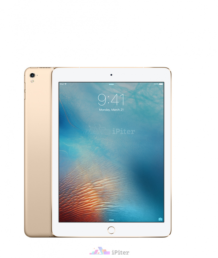 Фото Купить Apple iPad Pro 9,7'' 128gb Wi-Fi + Cellular Gold (MLQ52RU/A)