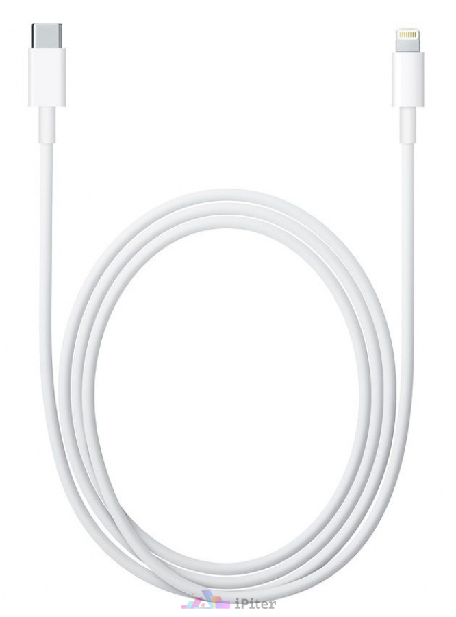 Фото Apple USB-C to Lightning Cable 2м (MKQ42ZM/A), Белый